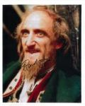 "Ron Moody ""Fagin"" From ""Oliver"" Hand signed autograph"